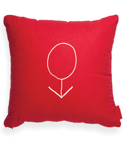 Male Symbol Throw Pillow