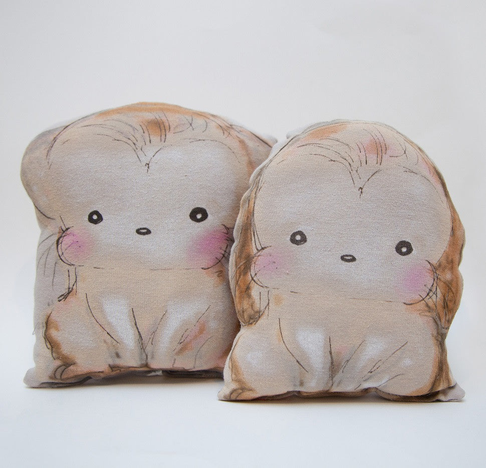 Buster Puppy and Mittens Kitten Pillows Set