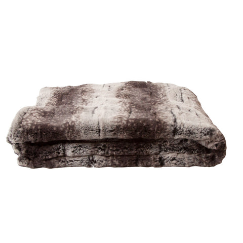 Luxury Mink Faux Fur Throw