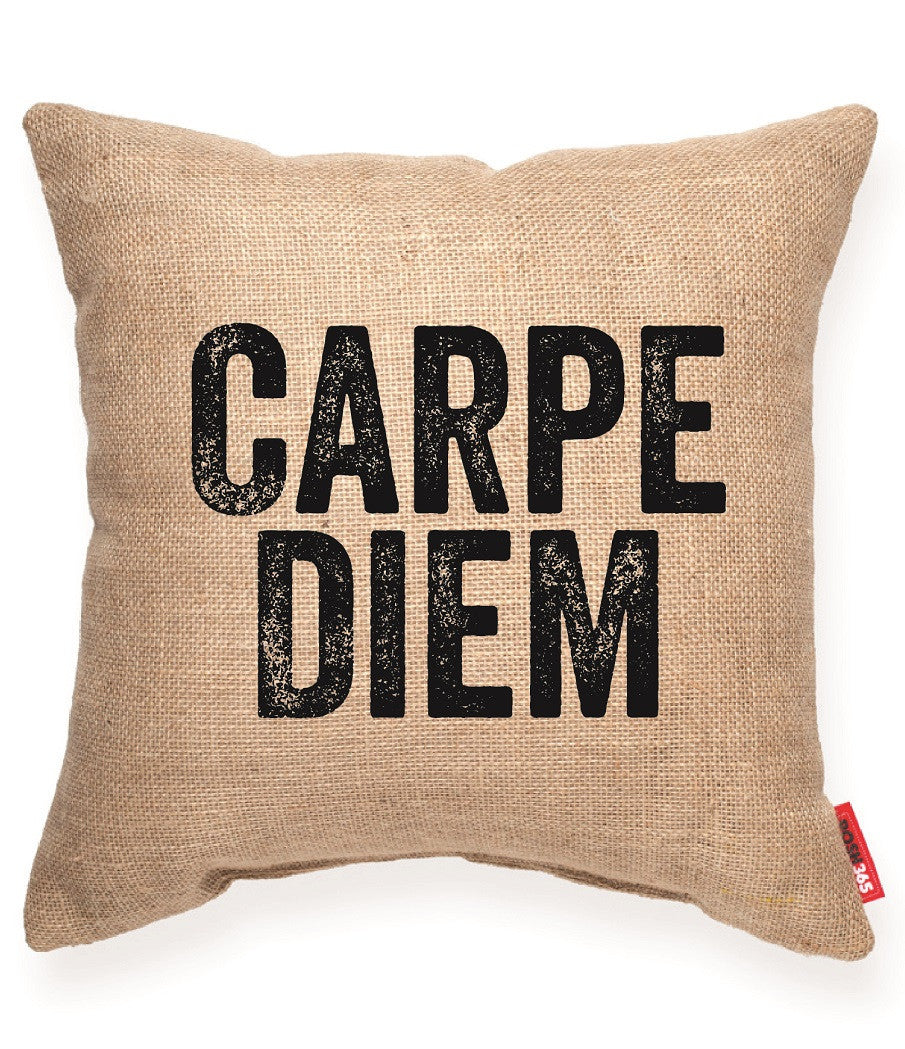 """Carpe Diem II"" Decorative Throw Pillow"