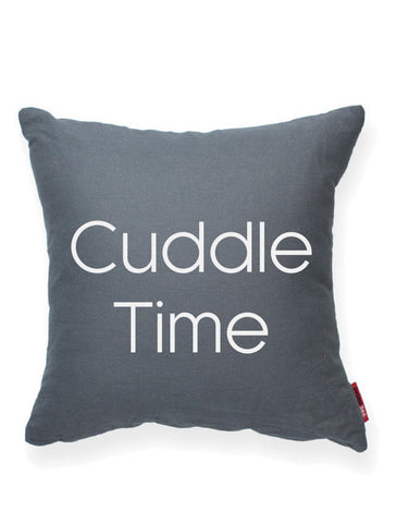 """Cuddle Time"" Decorative Throw Pillow"