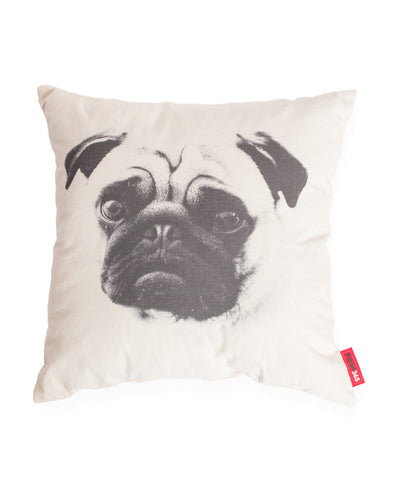 Pug Dog Decorative Throw Pillow