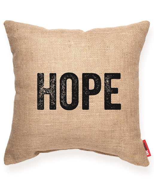 """Hope"" Decorative Throw Pillow"