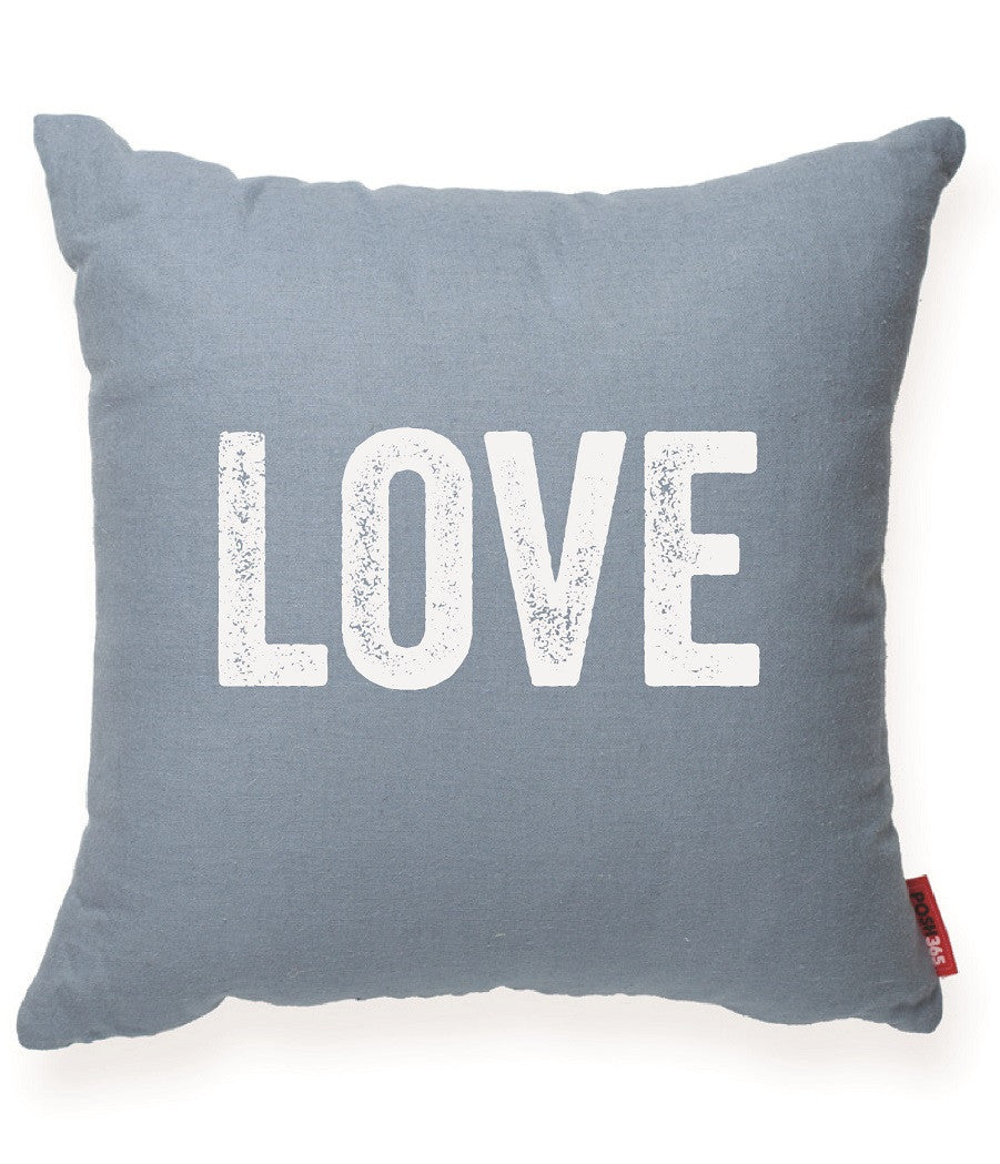 """Love"" Decorative Throw Pillow"