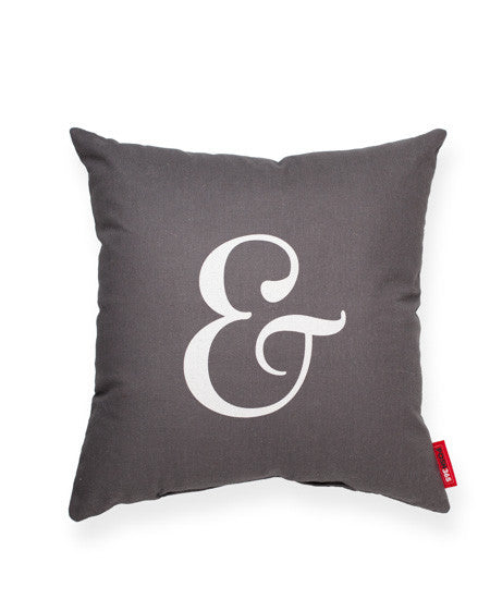 """Ampersand"" Decorative Throw Pillow"