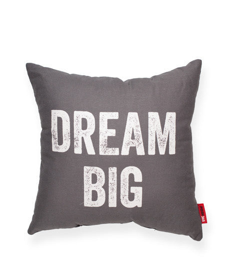 """Dream Big"" Decorative Throw Pillow"