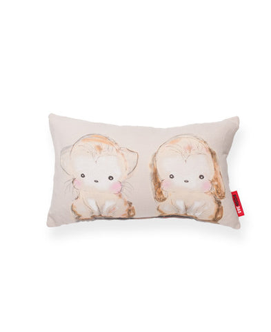 Buster and Mitten Decorative Throw Pillow