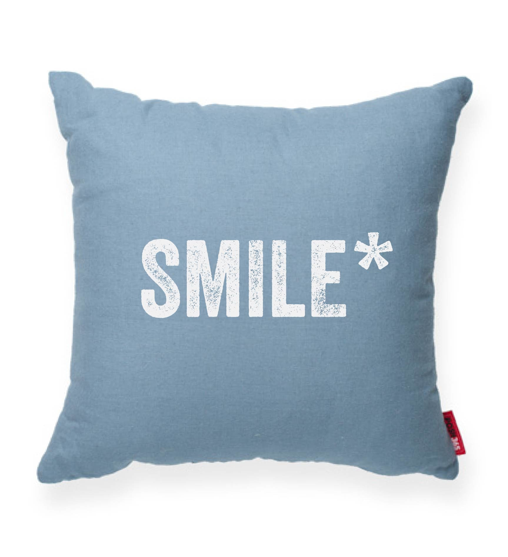 """SMILE*"" Decorative Throw Pillow"