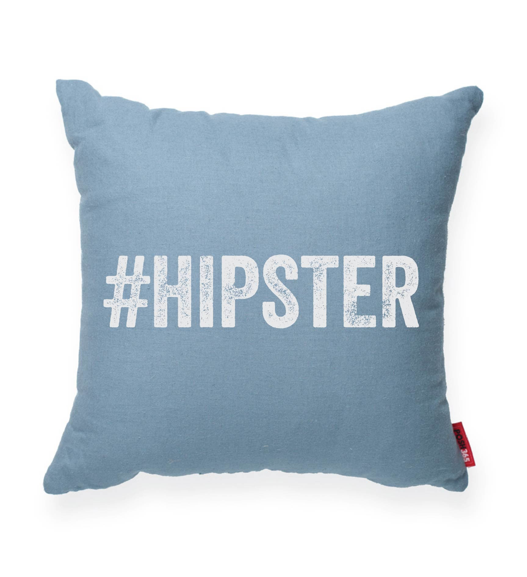 """#Hipster"" Decorative Throw Pillow"