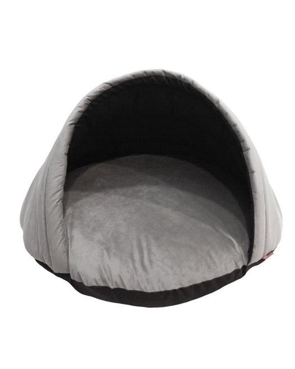 Gray Eskimo Tent Dog Bed