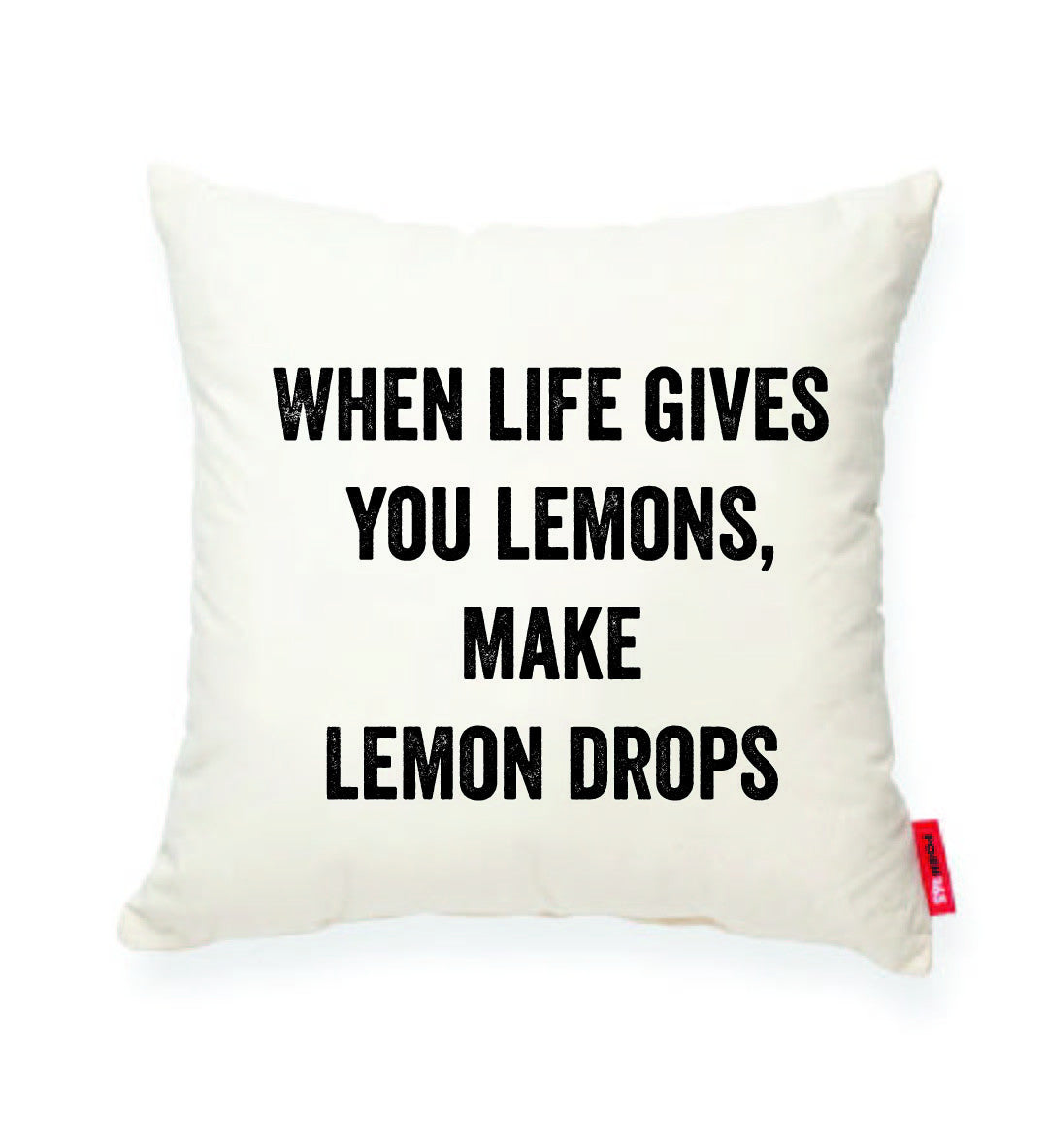 "Decorative Throw Pillow ""Lemon Drops"""