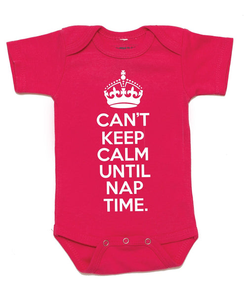 """Keep Calm"" Baby Onesie"