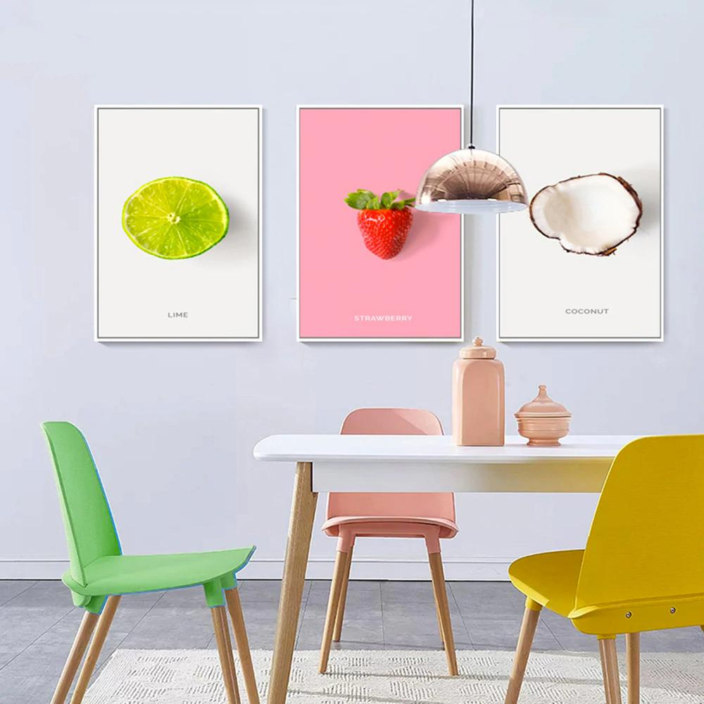 Fruit Canvas Print Wall Art Decor