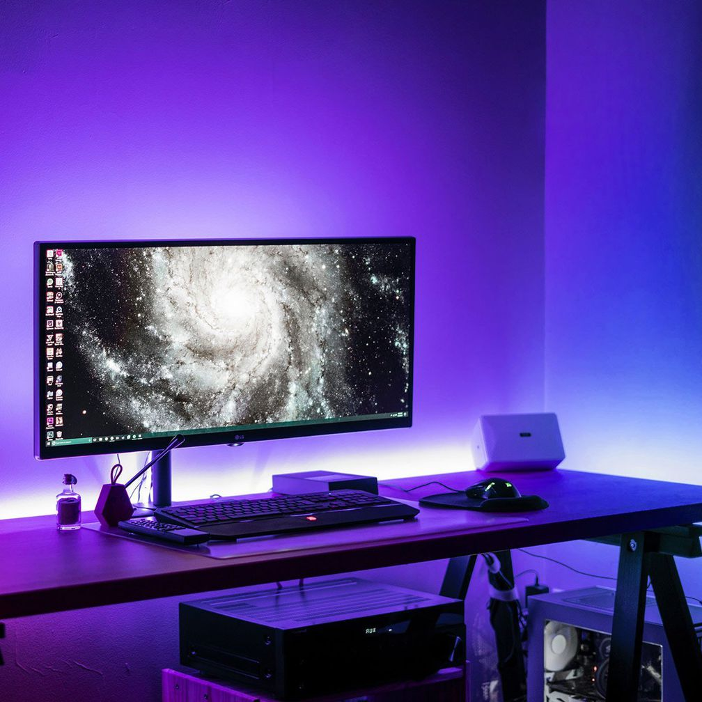 Gaming Decor LED Light Strip Battlestation