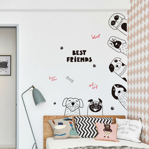 Hand Drawn Pencil Door Stickers
