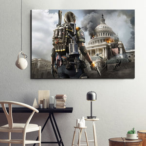 tom clancys rainbow six videogame poster wall art