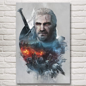 The Witcher 3 Inspired Wall Art