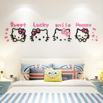 Kitty 3D Wall Stickers