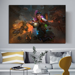Hearthstone videogame poster wall art