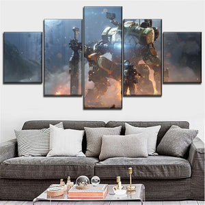 Titanfall Inspired Wall Art
