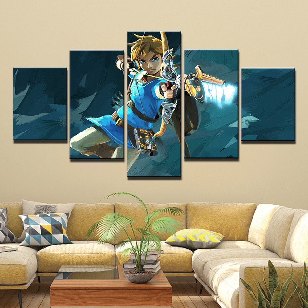 The Legend Zelda Inspired Wall Decor