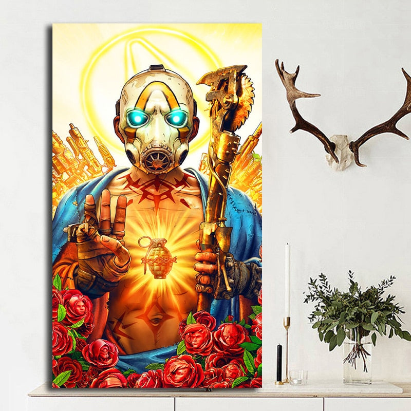 Borderlands 3 Poster Wall Decor
