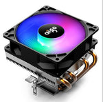 AIGO CPU LED Fan Heatsink Copper