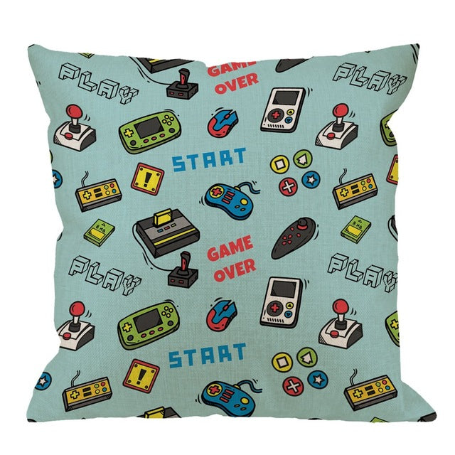 Gamer / Gaming Pillow Cases