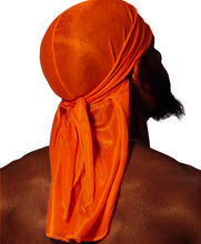 Load image into Gallery viewer, FANTA ORANGE SILK DURAG