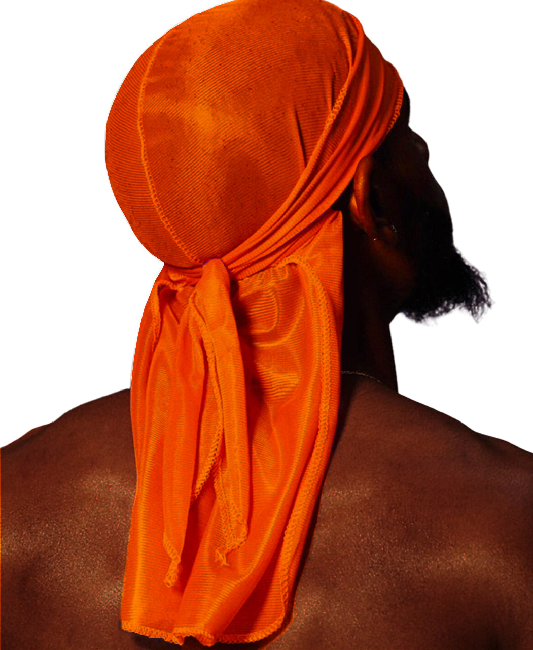 FANTA ORANGE SILK DURAG
