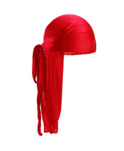 Load image into Gallery viewer, CHERRY RED SILK DURAG