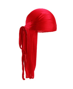 CHERRY RED SILK DURAG