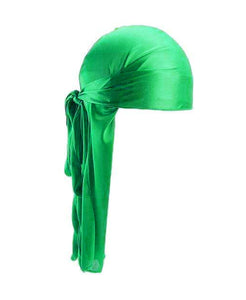LIME GREEN SILK DURAG