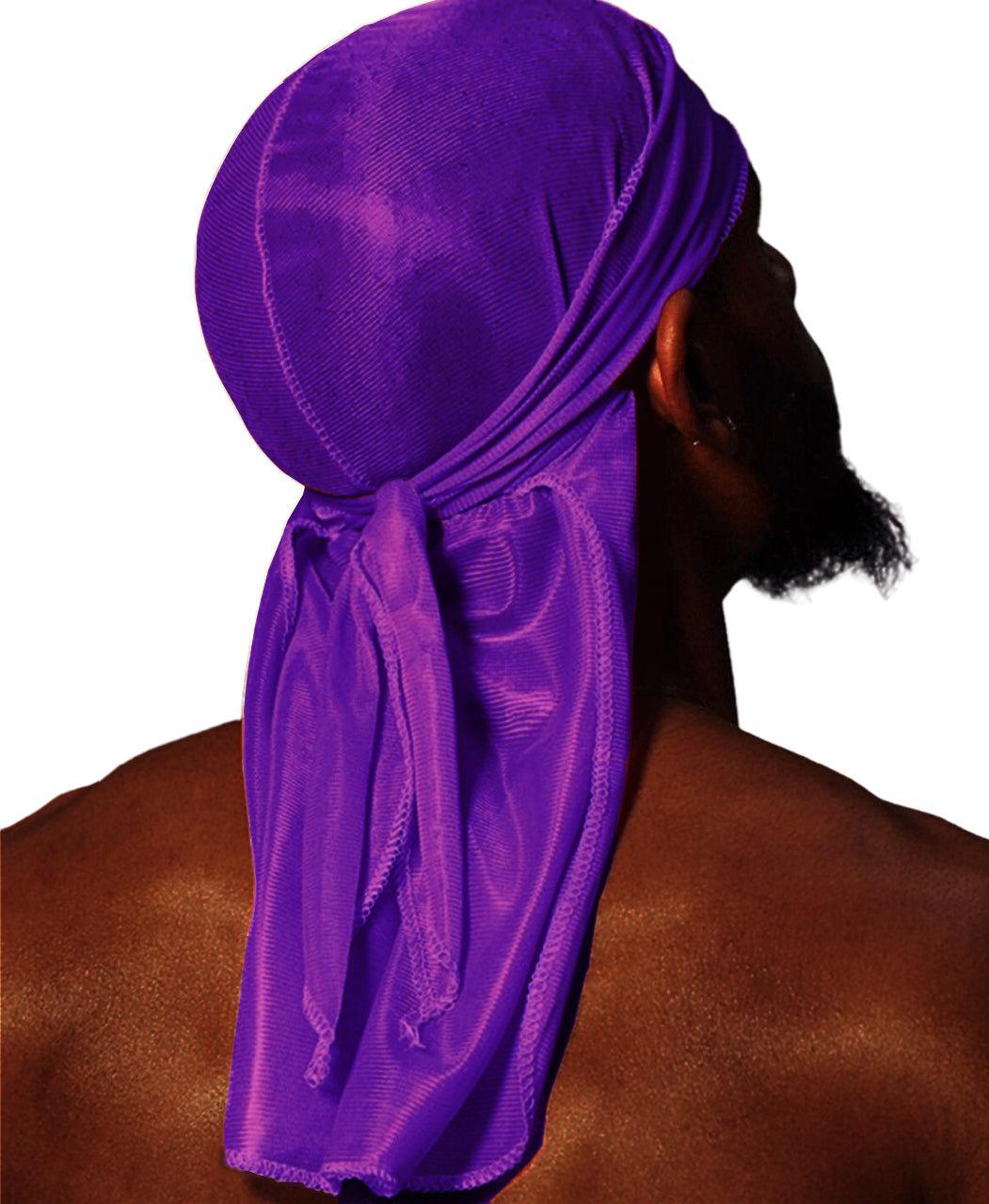 GRAPE PURPLE SILK DURAG