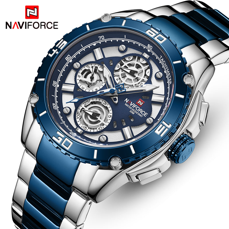NAVIFORCE 9179 Fashion Stainless Steel Watch