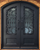 MAPLE- eyebrow top, bottom panel, bug screens wrought iron doors-62x81 Right Hand