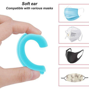 Silicone Face Cover Ear Grips