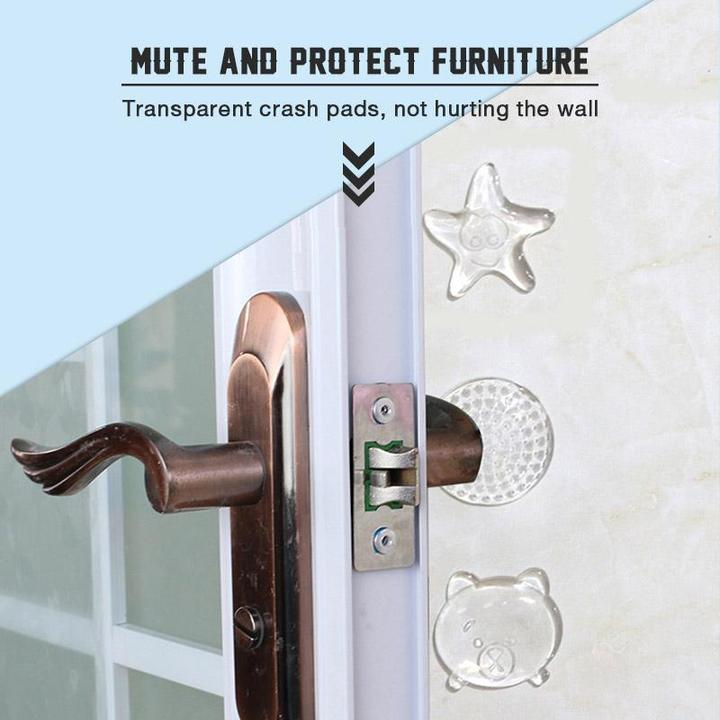 Transparent Door Handle PU Crash Pad (3 Pcs)