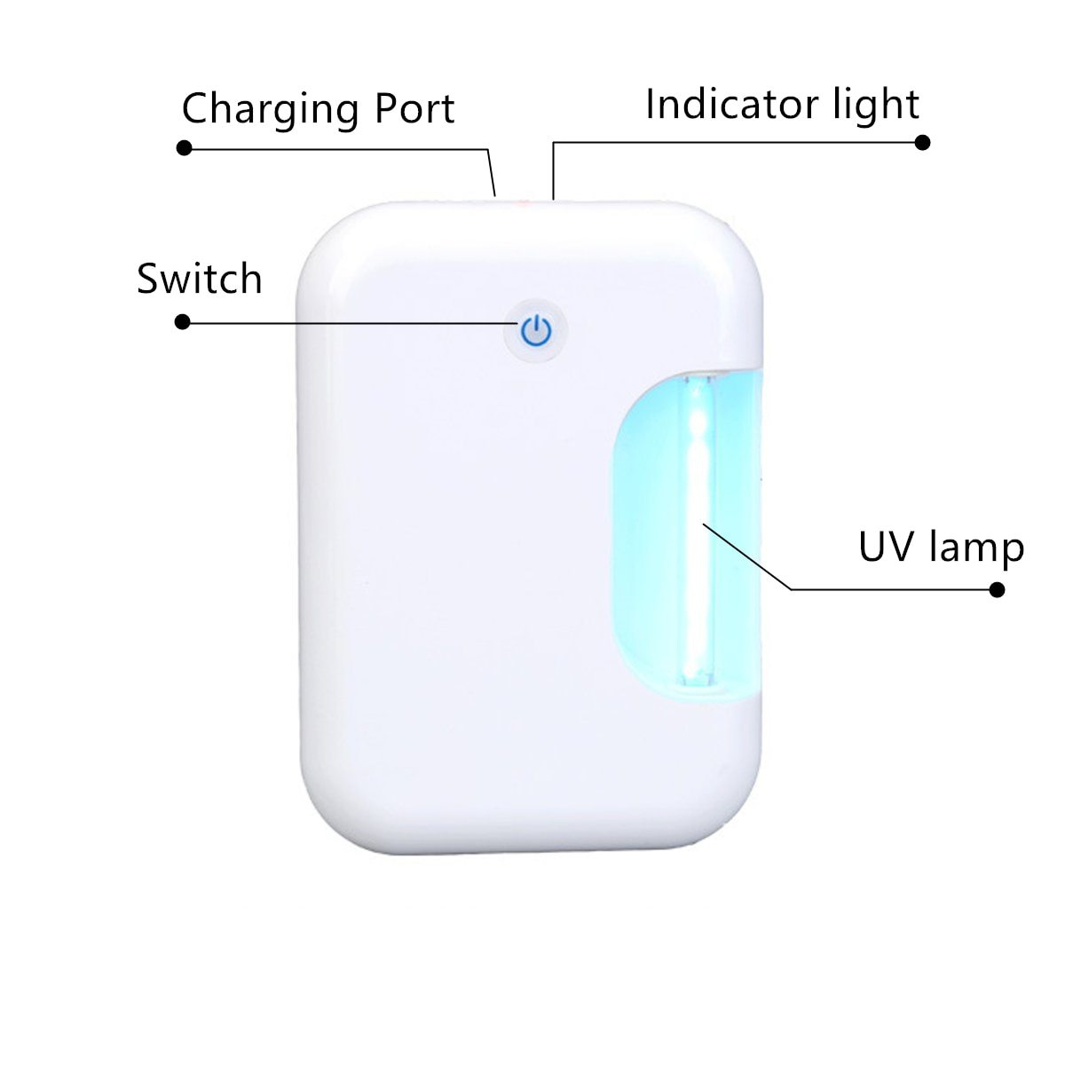UV Electric Ozone Sterilizer Lamp