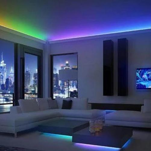 RGB LED Strip Lights (Remote Control Included)