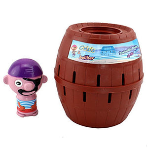 Lucky Stab Pop Up Pirate Bucket Toys
