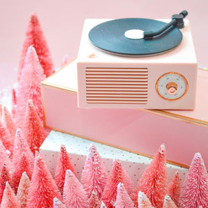 Retro Bluetooth Record Player