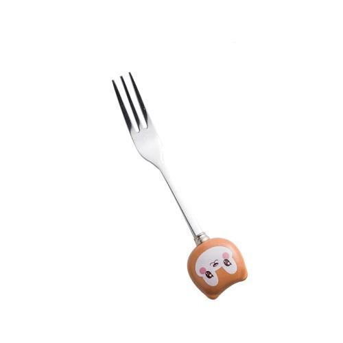 Kids Cartoon Fork and Spoon
