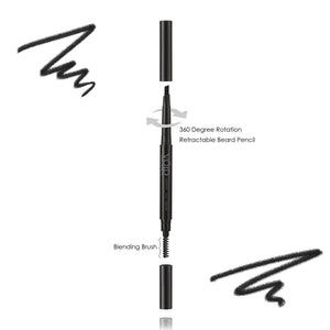 Adjustable 2-Sided Beard Filler Pencil for All Facial Hair