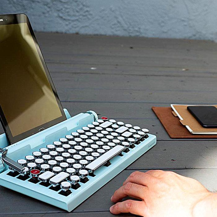 Vintage Typewriter Mechanical Keyboard
