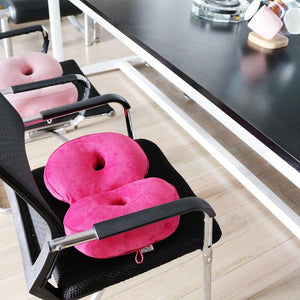 Foldable Dual Comfort Cushion Lift Hips Up Seat Cushion