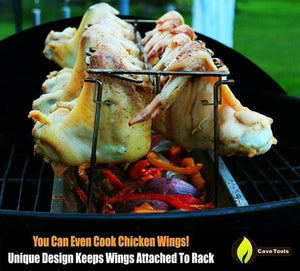 Roasted Chicken Rack Holder