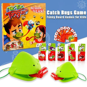 Funny Catch Bugs Board Game