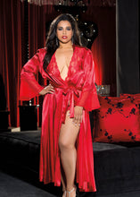 Load image into Gallery viewer, Long Satin Robe