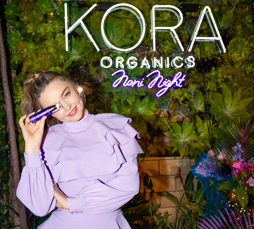 KORA ORGANICS: A STAR-STUDDED SOIREE